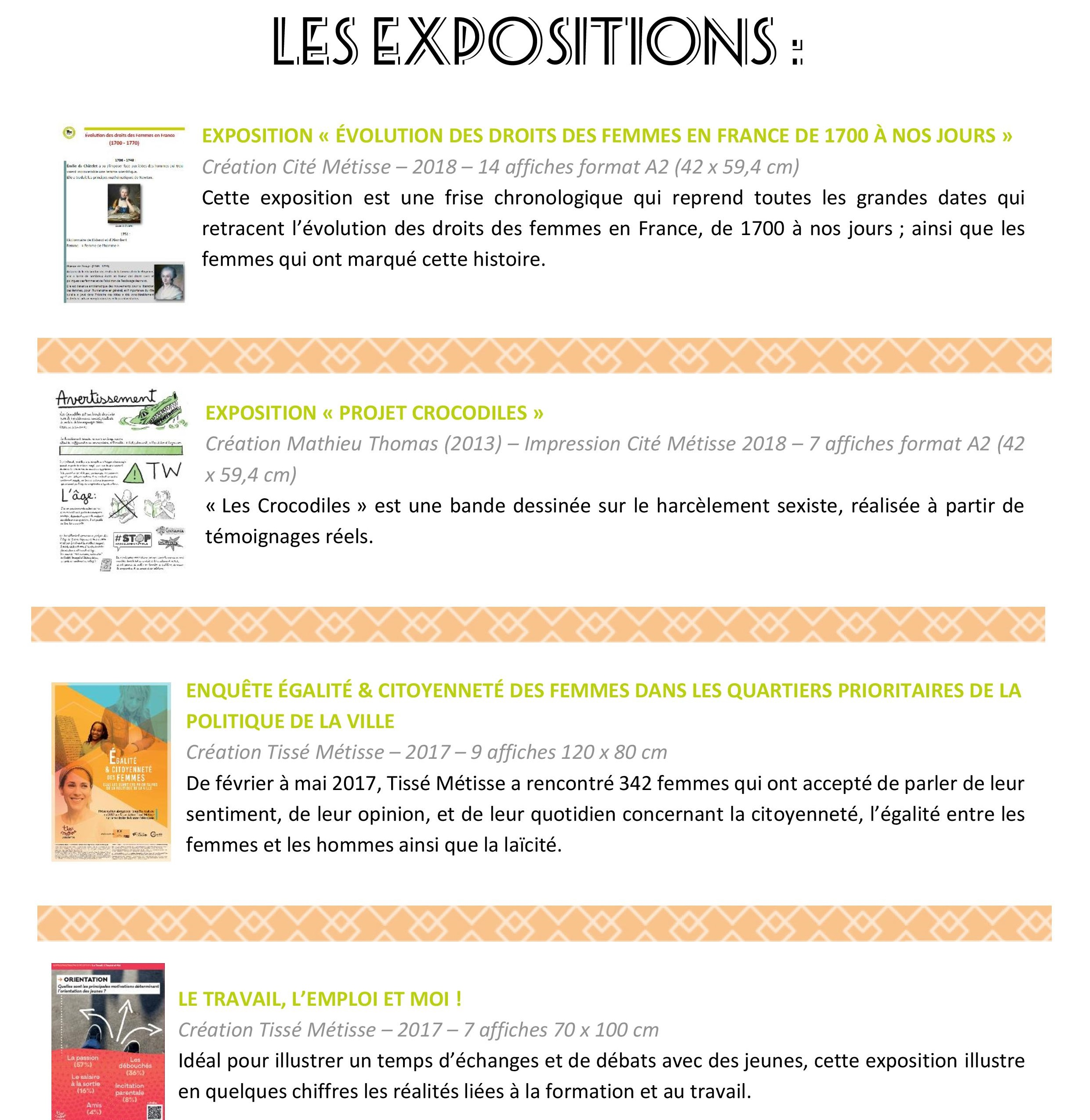 Sensibilisation par l'image - Expositions & citations.