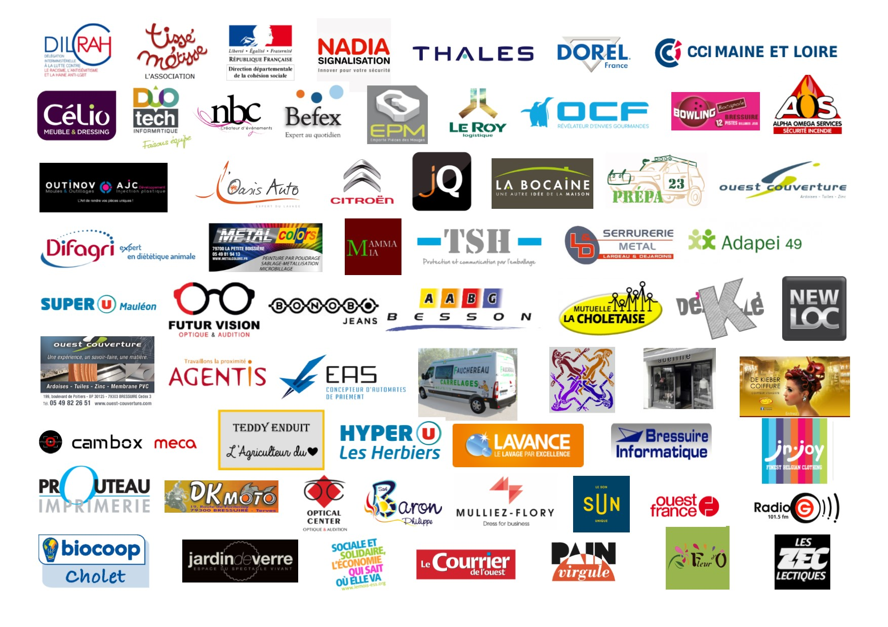 Nos amis - Financeurs, Associations, Entreprises, Radios, Bénévoles...